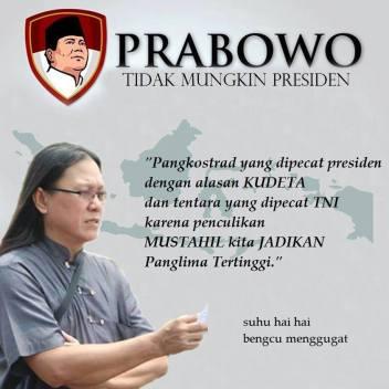 Mustahil Prabowo