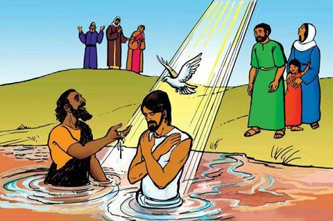 Domus Pacis: Minggu Pembaptisan Yesus 13 Jan 2019 (Luk 3:15-16. 21-22)